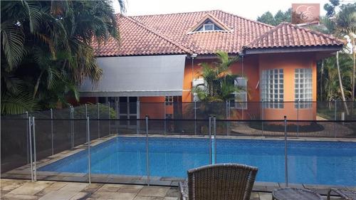 casa residencial à venda, vila de são fernando, cotia - ca0131. - ca0131