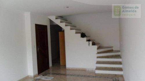 casa residencial à venda, vila eldízia, santo andré - ca0062. - ca0062