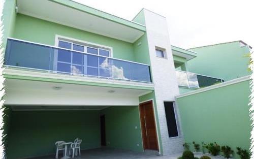 casa  residencial à venda, vila gardênia, atibaia.