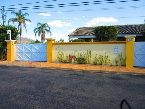 casa residencial à venda, vila gardênia, atibaia. - ca1089