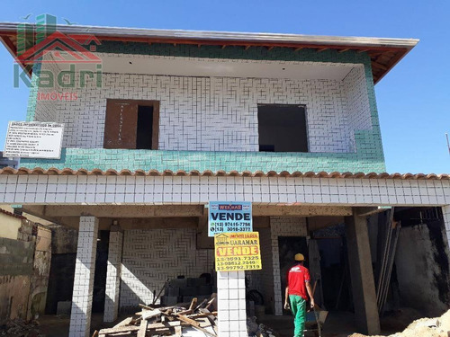 casa residencial à venda, vila guilhermina, praia grande. - ca0225