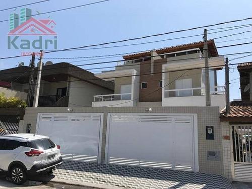 casa residencial à venda, vila guilhermina, praia grande. - ca0227