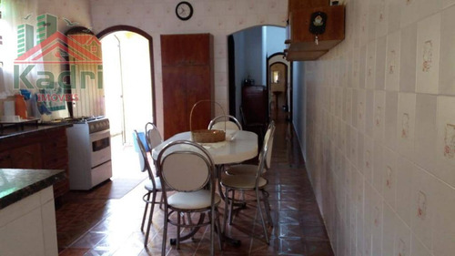 casa residencial à venda, vila guilhermina, praia grande. - ca0246