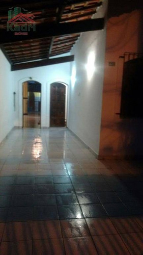 casa residencial à venda, vila guilhermina, praia grande. - ca0254