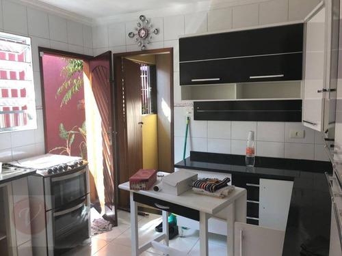 casa residencial à venda, vila humaitá, santo andré - ca2918. - ca2918