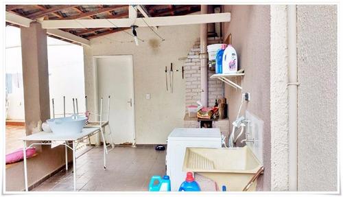 casa residencial à venda, vila menuzzo, sumaré. - codigo: ca0813 - ca0813