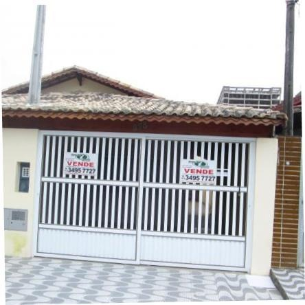 casa residencial à venda, vila mirim, praia grande. - ca0043