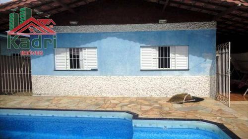 casa residencial à venda, vila mirim, praia grande. - ca0044