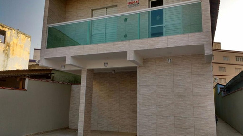 casa residencial à venda, vila mirim, praia grande. - ca0227