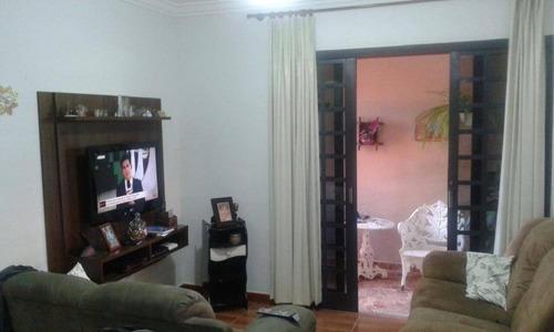 casa residencial à venda, vila monte alegre iv, paulínia. - ca1037