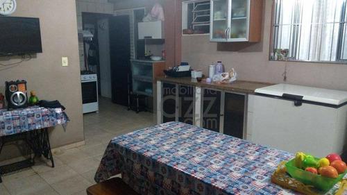 casa residencial à venda, vila monte alegre, paulínia. - ca3092