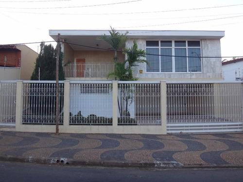 casa residencial à venda, vila nogueira, campinas. - ca0153