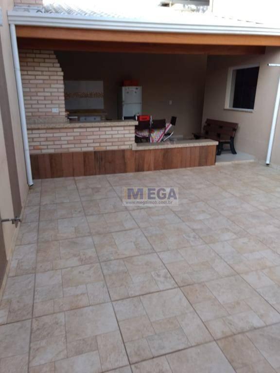 casa residencial à venda, vila nova, campinas. - ca0648