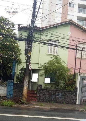 casa residencial à venda, vila pompéia, são paulo. - ca0052