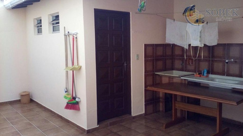 casa residencial à venda, vila proost de souza, campinas. - ca0270