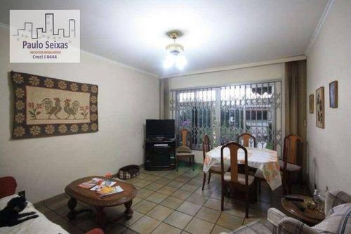 casa residencial à venda, vila romana, são paulo. - ca0056