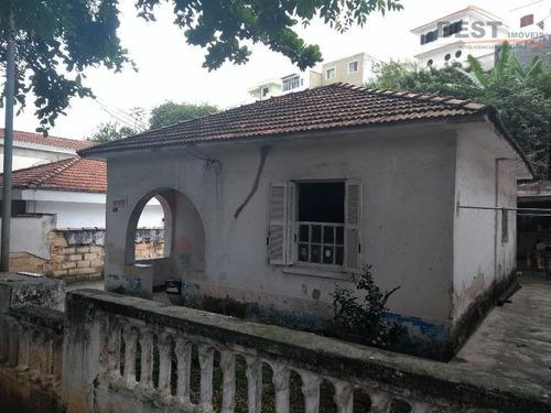casa residencial à venda, vila romana, são paulo. - ca0651