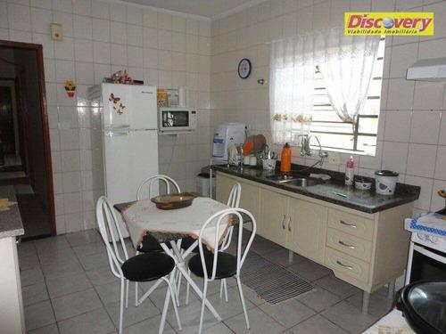 casa  residencial à venda, vila rosália, guarulhos. - ca0199