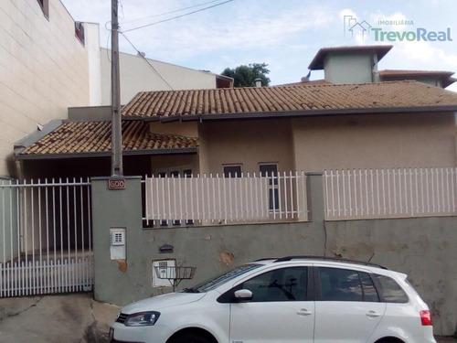 casa residencial à venda, vila santana, valinhos. - ca1265
