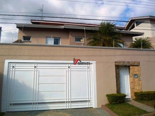casa  residencial à venda, vila santista, atibaia. - ca0743