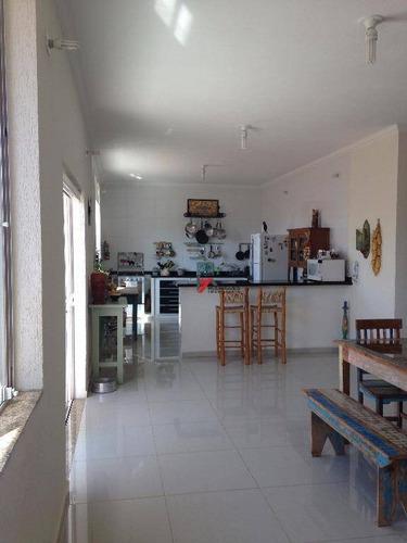 casa residencial à venda, vila santista, atibaia. - ca1432
