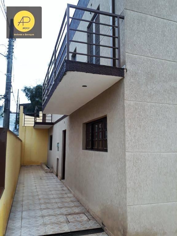 casa residencial à venda, vila são paulo, mogi das cruzes. - ca0034