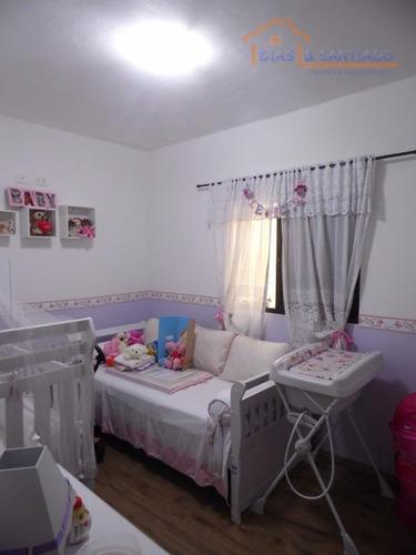 casa residencial à venda, vila suíça, ribeirão pires - ca0093. - ca0093