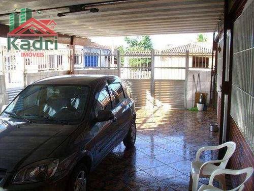casa residencial à venda, vila tupi, praia grande. - ca0012