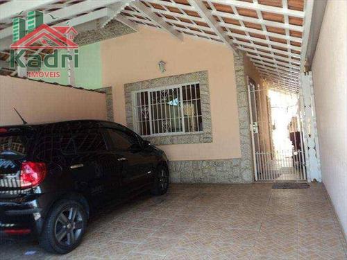 casa residencial à venda, vila tupi, praia grande. - ca0043