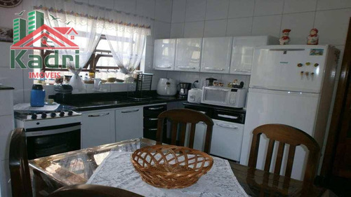 casa residencial à venda, vila tupi, praia grande. - ca0099