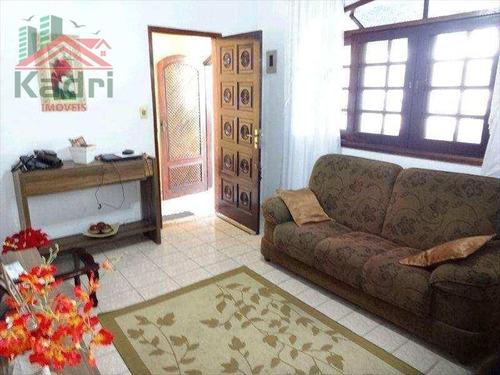 casa residencial à venda, vila tupi, praia grande. - ca0214