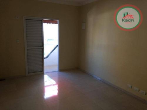 casa residencial à venda, vila tupi, praia grande. - ca0276