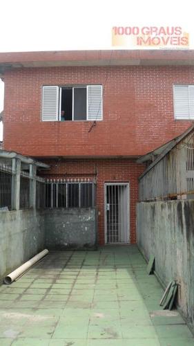 casa residencial à venda, vila tupi, praia grande. - codigo: ca0091 - ca0091