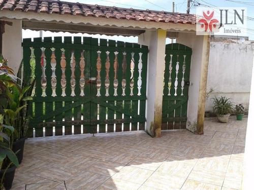 casa  residencial à venda, vila tupy, itanhaém. - ca0147