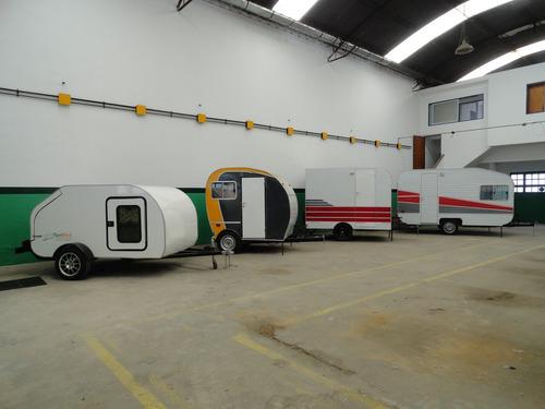 casa rodante 350 aerodinamica 0km para 4 personas en olivos