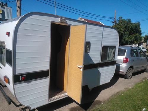 casa rodante 350 para 4 personas completa