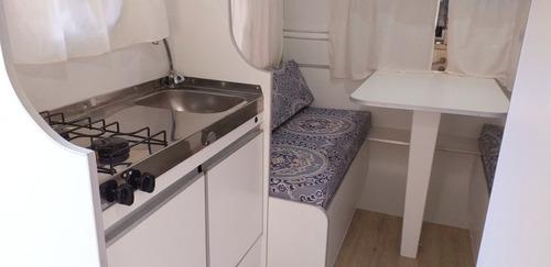 casa rodante 4 mt linea nueva la mejor terminación de luxe!