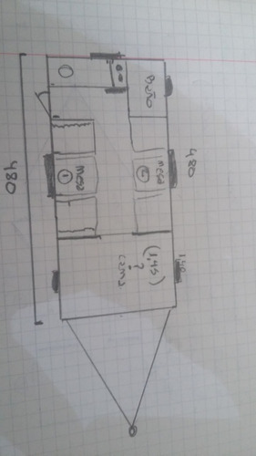 casa rodante 480 full 0 km nueva venta casilla