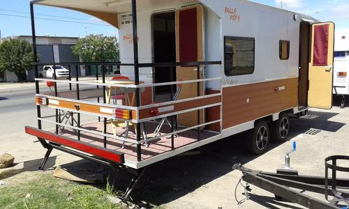 casa rodante - 600 con balcon - lomas camping - cañuelas