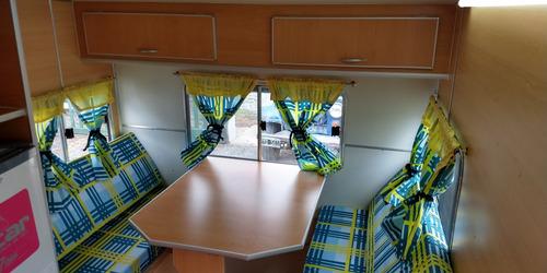 casa rodante brandsen 3,10 mts p 4 pers c/baño p aluminio