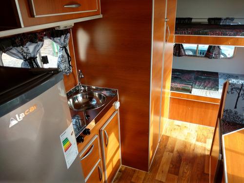 casa rodante brandsen 4,50 mts c/ alum p /5 1 eje 0km 2021