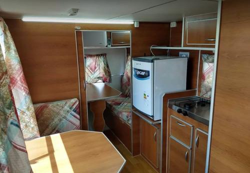casa rodante brandsen 4,50 mts c/perf alum 0km 2020