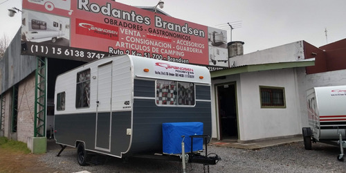 casa rodante brandsen mod:4,50 mts c/ a/a nueva 0km 2021