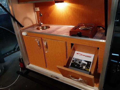casa rodante brandsen model: mini roda 0km 2020 homologada