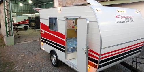 casa rodante brandsen  modelo: mini  roda p 4pers homologada