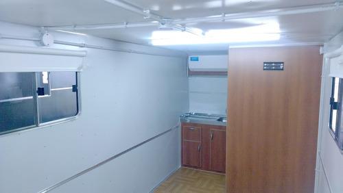casa rodante brandsen - oficina móvil 5,00  dob-eje balan