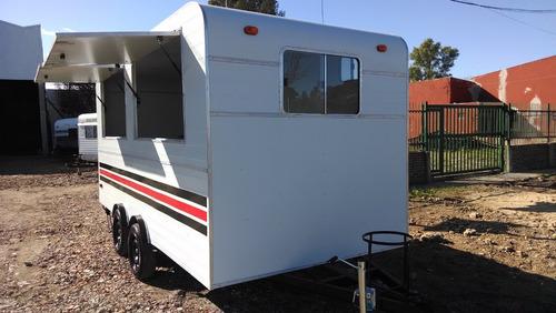 casa rodante brandsen trailer gastron 4,50  d-eje balanc