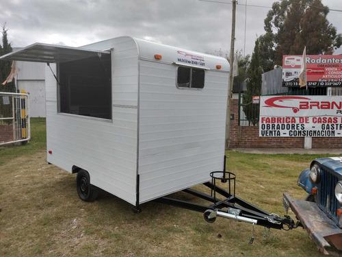 casa rodante brandsen  trailer gastronomico 3,00  un eje