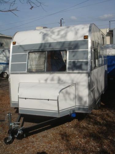 casa rodante camping del oeste 3.30 mtrs. toda en fibra!!!