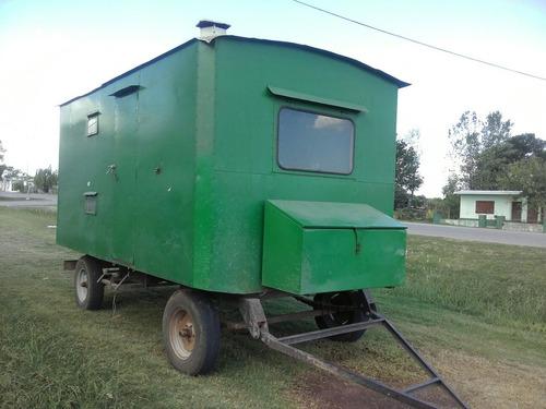 casa rodante de uso agrícola (california)